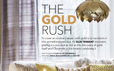 The gold rush | Homes & Antiques magazine